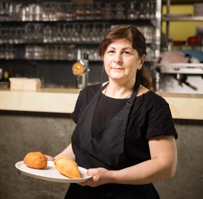 Lisetta Ciappellano - Cheffe et patronne du restaurant Divino