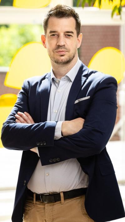 Raphael Rubens, Directeur du Shopping cora Anderlecht