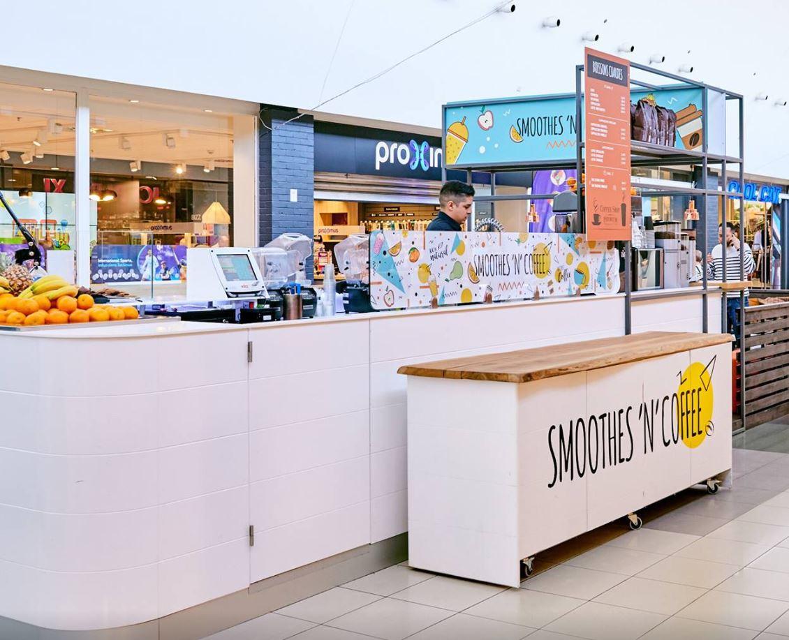 Smoothes'n'Coffee Shopping cora La Louvière