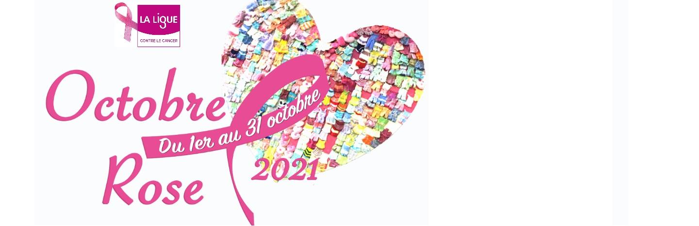 Octobre Rose pour la sensibilisation au dépistage du cancer du sein