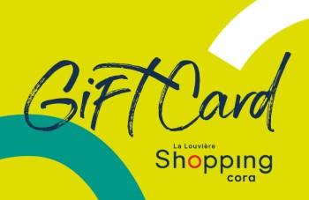 Gift Card Shopping cora La Louvière