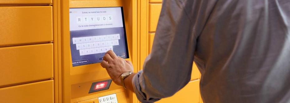 Amazon locker au shop'in Mundo