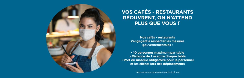 Ouverture des restaurants