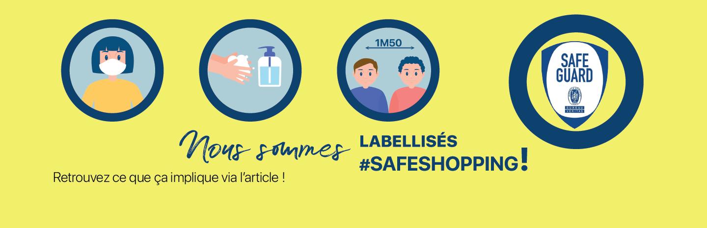 Label safe shopping