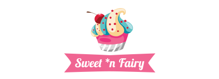 Sweet'n'fairy cake design