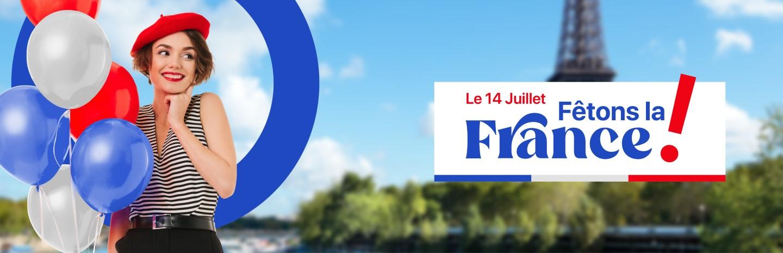 Fête nationale française organisée dans votre Shopping cora Messancy